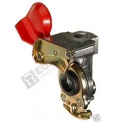 PALM COUPLING M22x1.5 FOR TRAILER RED