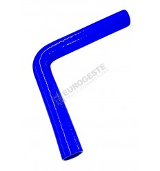 DURITE SILICONE COUDEE 90° (Long. de bras 250mm)