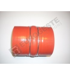 SILICONE CONNECTOR TURBO DAF Ø100x130 RED 1 HUMP