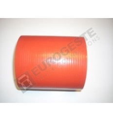 SILICONE CONNECTOR MAN Ø100x130 RED STRAIGHT