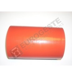 SILICONE CONNECTOR MAN Ø100x180 RED STRAIGHT