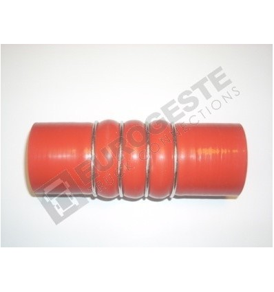 DURIT TURBO MAN Ø50x160 ROUGE 3 ONDULATIONS
