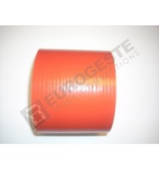 SILICONE CONNECTOR MERCEDES Ø115x100 RED STRAIGHT