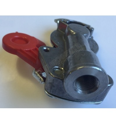 PALM COUPLING M16x1,5 FOR TRAILER RED