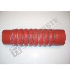 REDUCER SILICONE BELLOWS HOSE TURBO MB Ø79-84x320 RED WITH 9 STEEL RINGS