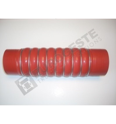 DURIT TURBO MB Ø79-84x320 ROUGE REDUCTEUR 8 ONDULATIONS