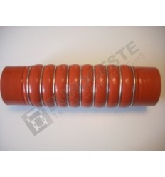 SILICONE BELLOWS HOSE TURBO RENAULT Ø79x325 RED WITH 9 STEEL RINGS