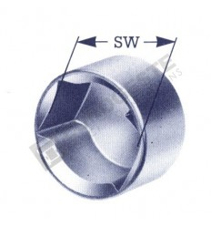 BPW WRENCH SOCKET FOR NUT SPINDLE