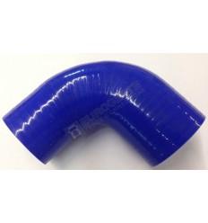 DURIT TURBO BLEUE COUDEE 90° Ø50-60 LG95