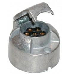 ALU SOCKEL 12V Modell mit Schraube + Gummischutz