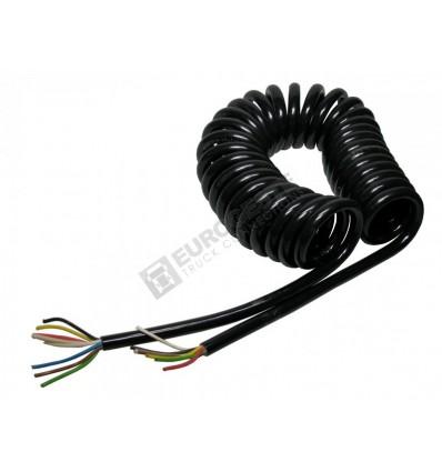 Cable electrique spirale