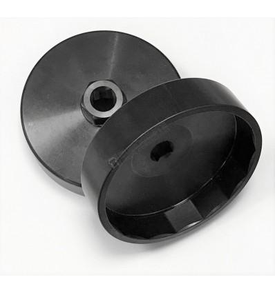 DOUILLE COIFFE ACIER 92 - 15 pans
