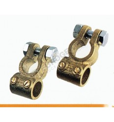 """BATTERY TERMINAL WITH DOUBLE CLAMPS (+) """" cable70mm² """""""