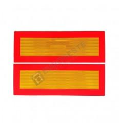 REFLEKTIERENDE WARNTAFEL (200x565) pro Paar - CE - Anhänger